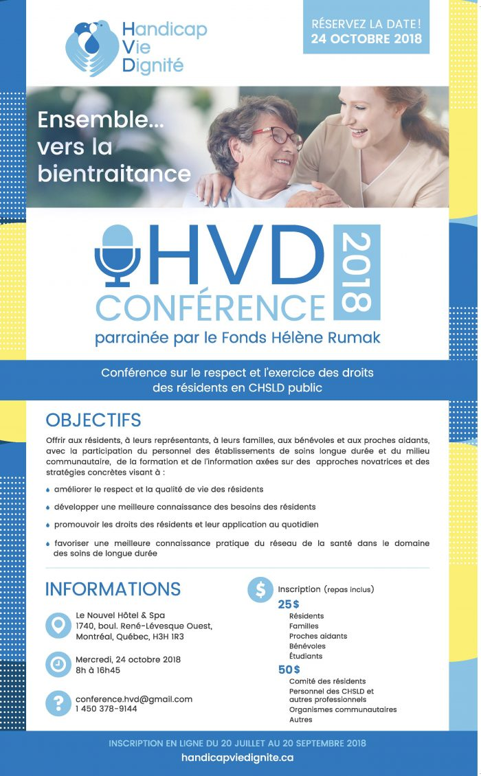 24 oct 2018 - colloque HVD Montréal