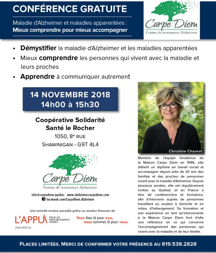 Conference alzheimer 14novembre2018